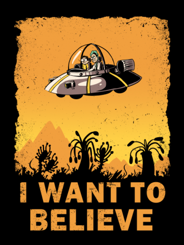 I Want to Believe 100 Years