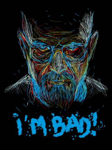 I'm bad blue meth version