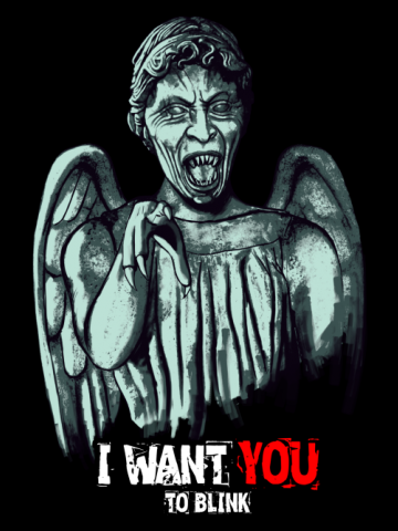I want you to blink - Doctor Who