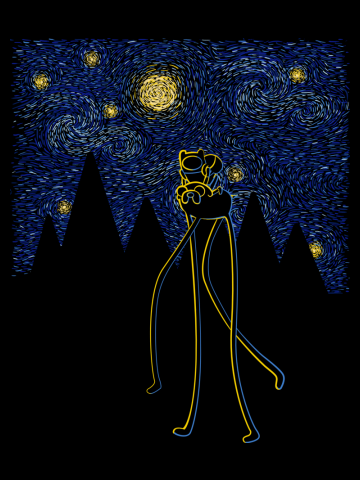 Starry Night Adventure - Adventure Time