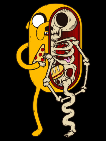 Jake Anatomy - Adventure time with Finn & Jack