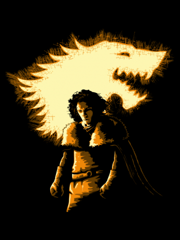 John Snow Knight - Game of Thrones