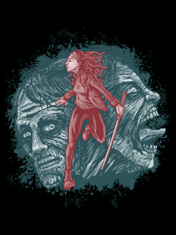 Katana Girl & Zombies