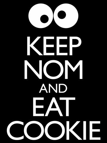 Keep Nom & Eat Cookie