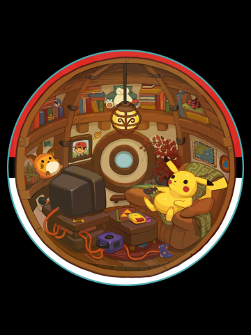 Life in a Pokeball