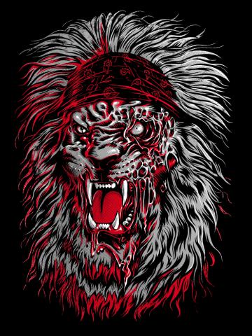 Lion Zombie