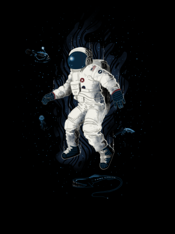 Lost in the abyss of space