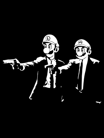 Mario Pulp Fiction