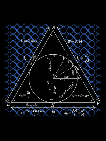 Mathly Hallows (Blue Version)