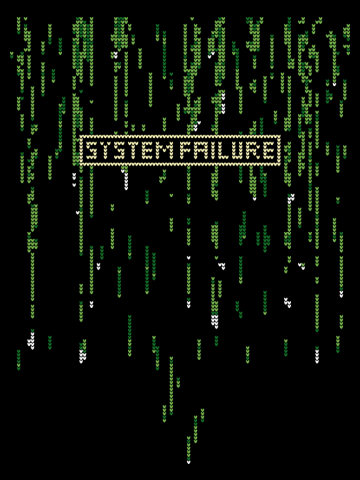 Matrix System Failure - Ugly Sweater Stitch Pattern