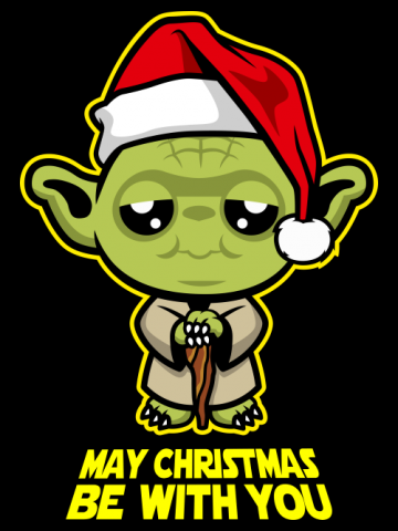 May christmas be with you!