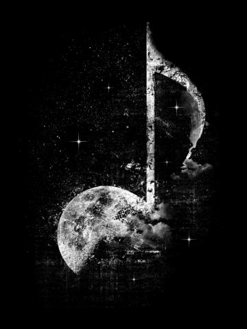 Melodie de la Lune - Blanche