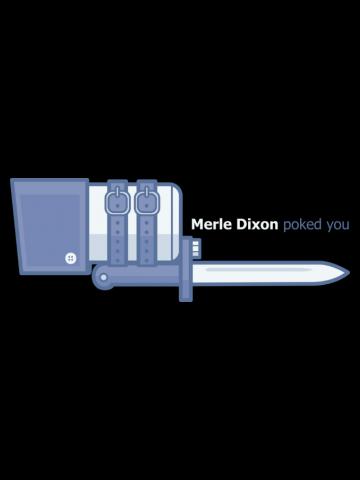 Merle Poke - The walking Dead