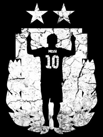 Messi (Argentina White)
