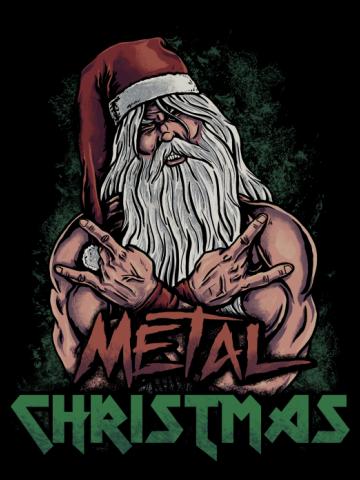 Metal Christmas - Color Version