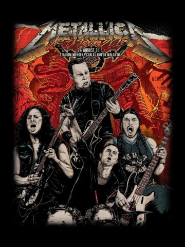 Metallica - Band poster