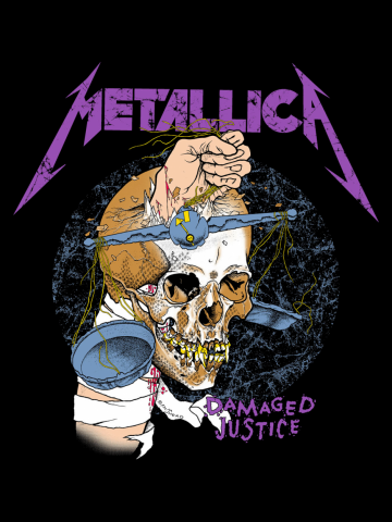 Metallica - Damaged justice