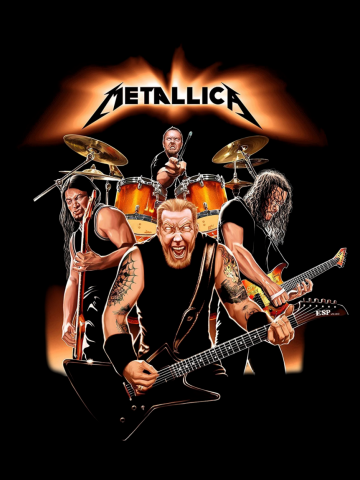 Metallica - Mega Band Poster
