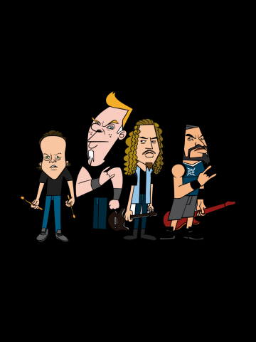 Metallica Cartoons