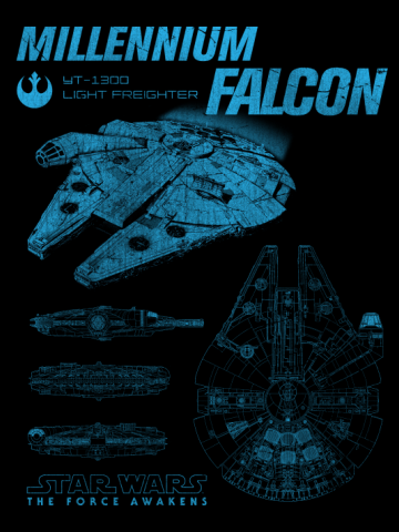 Millennium Falcon Schematics