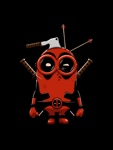 Despicable Deadpool - Minions