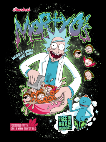 Mortyo's Spacey Cereals