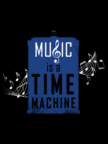 Music is a time machine