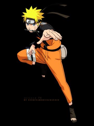 Naruto Uzumaki jump