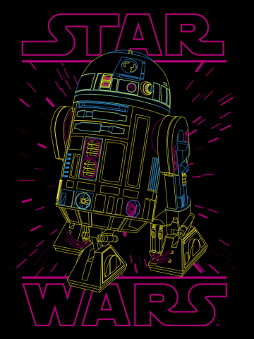 Neon R2-D2