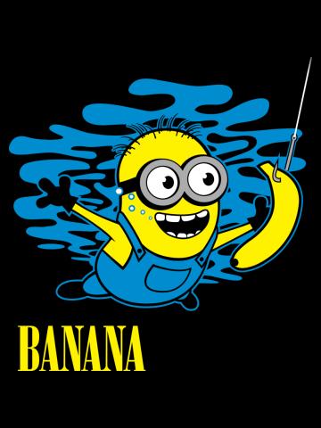 Nirvana Banana Minion