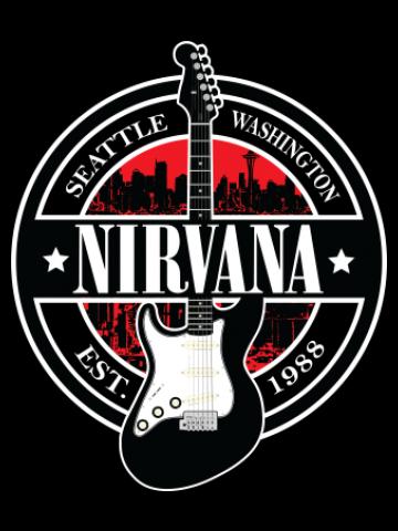 Nirvana Guitar Logo