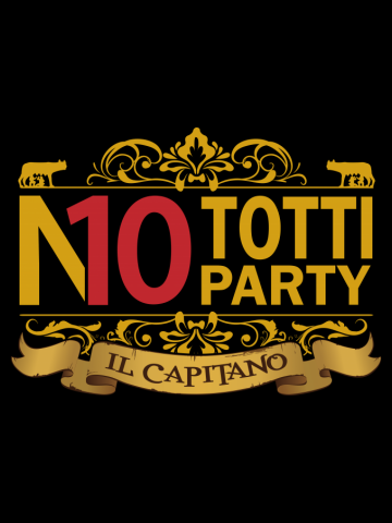 No Totti No Party Gold Ver