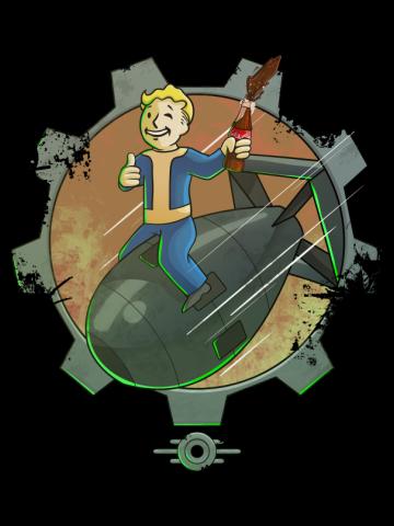Nuke riding -  Fallout