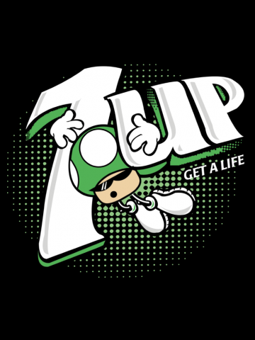 One life up - Super Mario