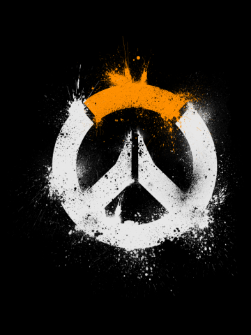 Overwatch Logo! [Spray-Painted]