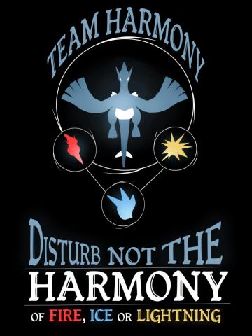 Pokemon GO! - Team Harmony (Lugia)