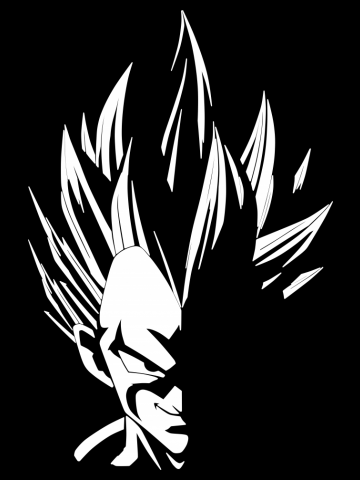 Prince Vegeta Into Light