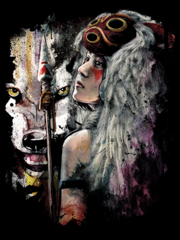 Princess Mononoke and The Spirit of the Wolf