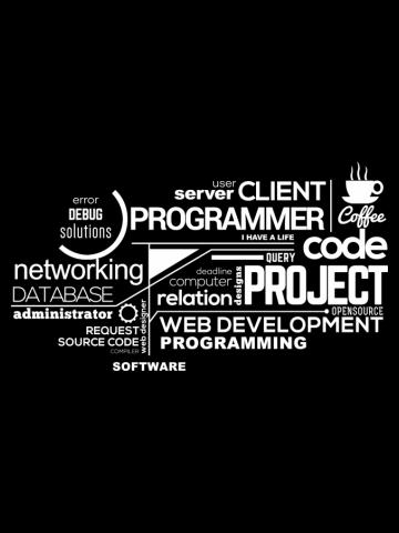 Programmer - typography programming