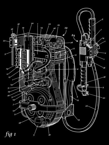 Proton Pack Patent