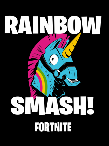 Rainbow smash! Fortnite