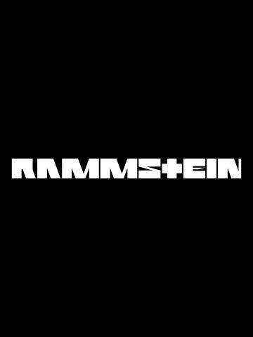 Rammstein -  Text Logo
