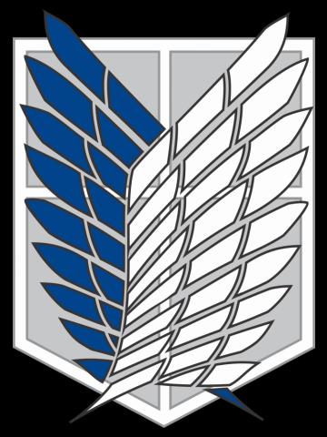 Recon Corps Logo - Attack on Titan