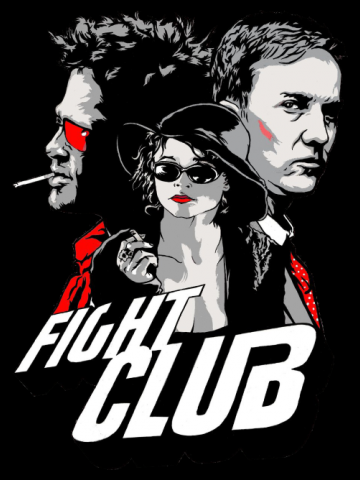 Retro Poster - Fight Club