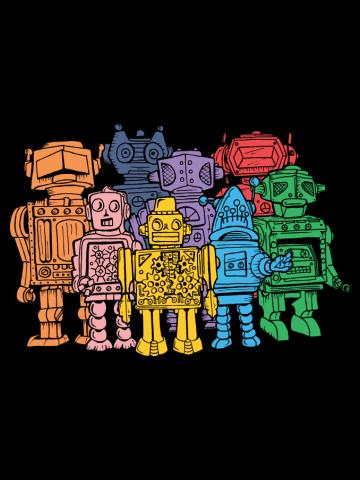 Retro Robot Squad