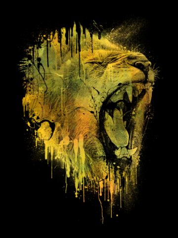 Roar from the death - Lion