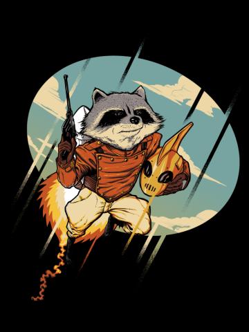 Rocket Raccoon-A-Teer