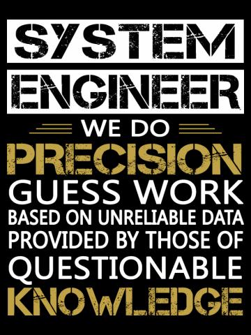 SYSTEM ENGINEER