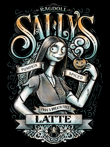 Sallys Spiced Pumpkin latte