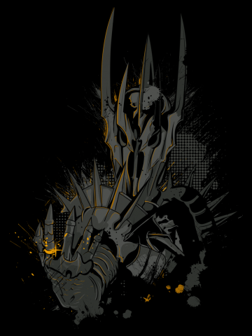 Sauron hand - Lord of the Rings